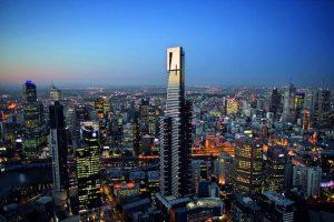 skyscraper buildings of Melbourne